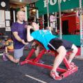 トレーニングの様子/ダンベルベンチプレス